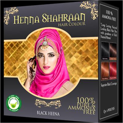 Shahraan Black Henna