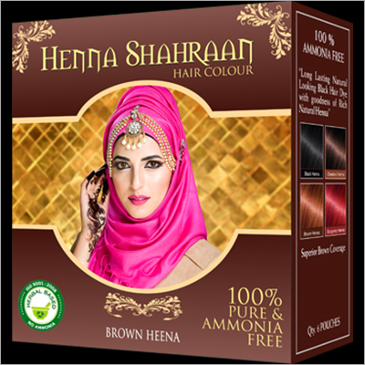 Shahraan Brown Henna