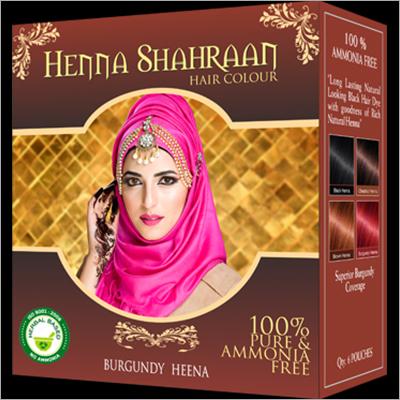 Shahraan Burgundy Henna