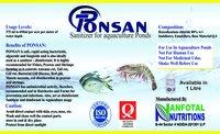 Aquaculture Water Sanitizer & Cleaner Liquid (Ponsan)