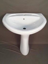 Rediant Wash Basin With Pedestal