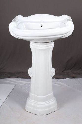 Big Sterling Set With Pedestal