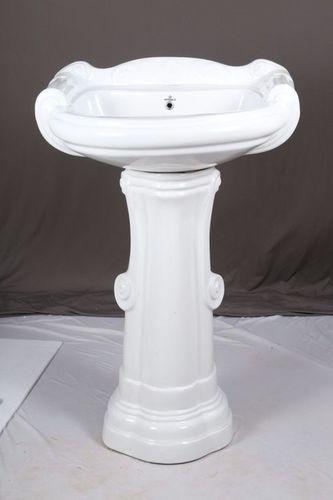 Big Sterling Set With Pedestal