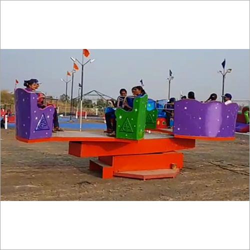 Amusment  Park Merry Go Round Ride