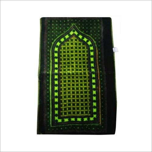 Green Islamic Prayer Mat