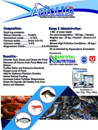 Aquaculture Modified Zeolite & Toxin Binder (Anfolite)