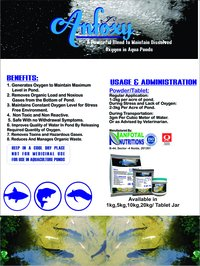 Aquaculture Oxygen Generator (Anfoxy)