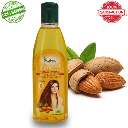 KAZIMA Almond Herbal Hair Oil