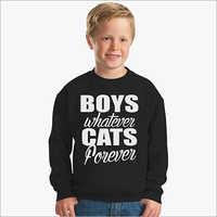Boys Black T Shirts