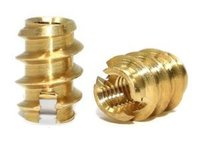 Brass Self Tapping Inserts (Threaded)