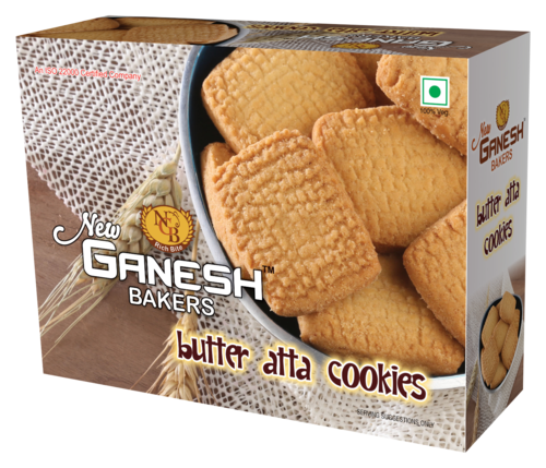 Butter Atta Cookies