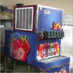 Flavours soda machine