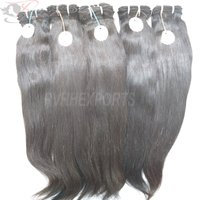 Unprocessed Natural Real Remy Indian Virgin Human Hair Straight