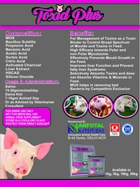 Swine Feed Toxin Binder (Toxid Plus)