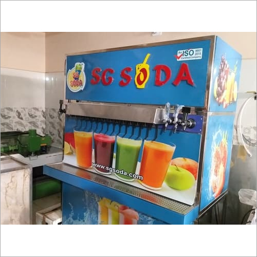 Soda shop machine