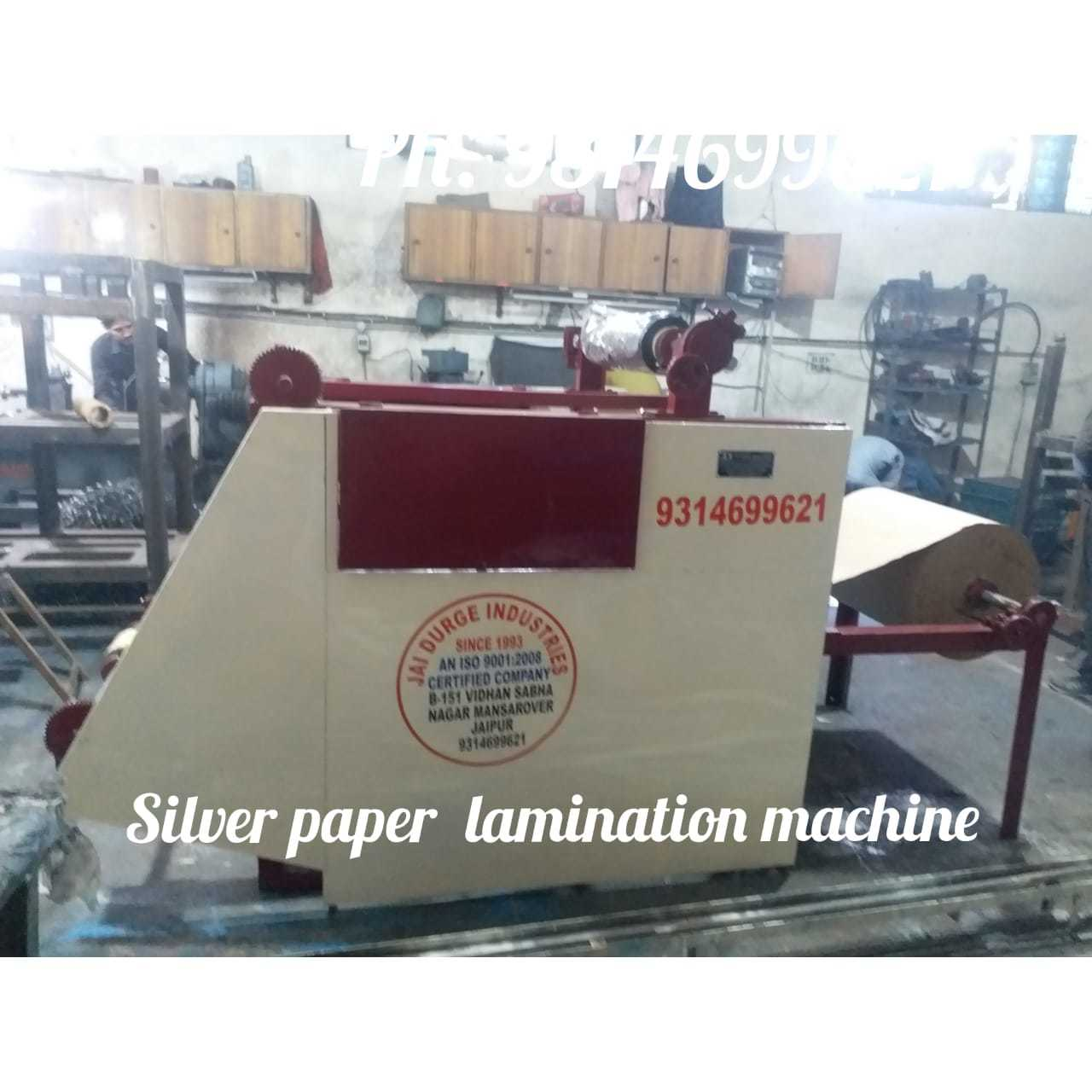 Silver Paper Lamination Machine with Cutter