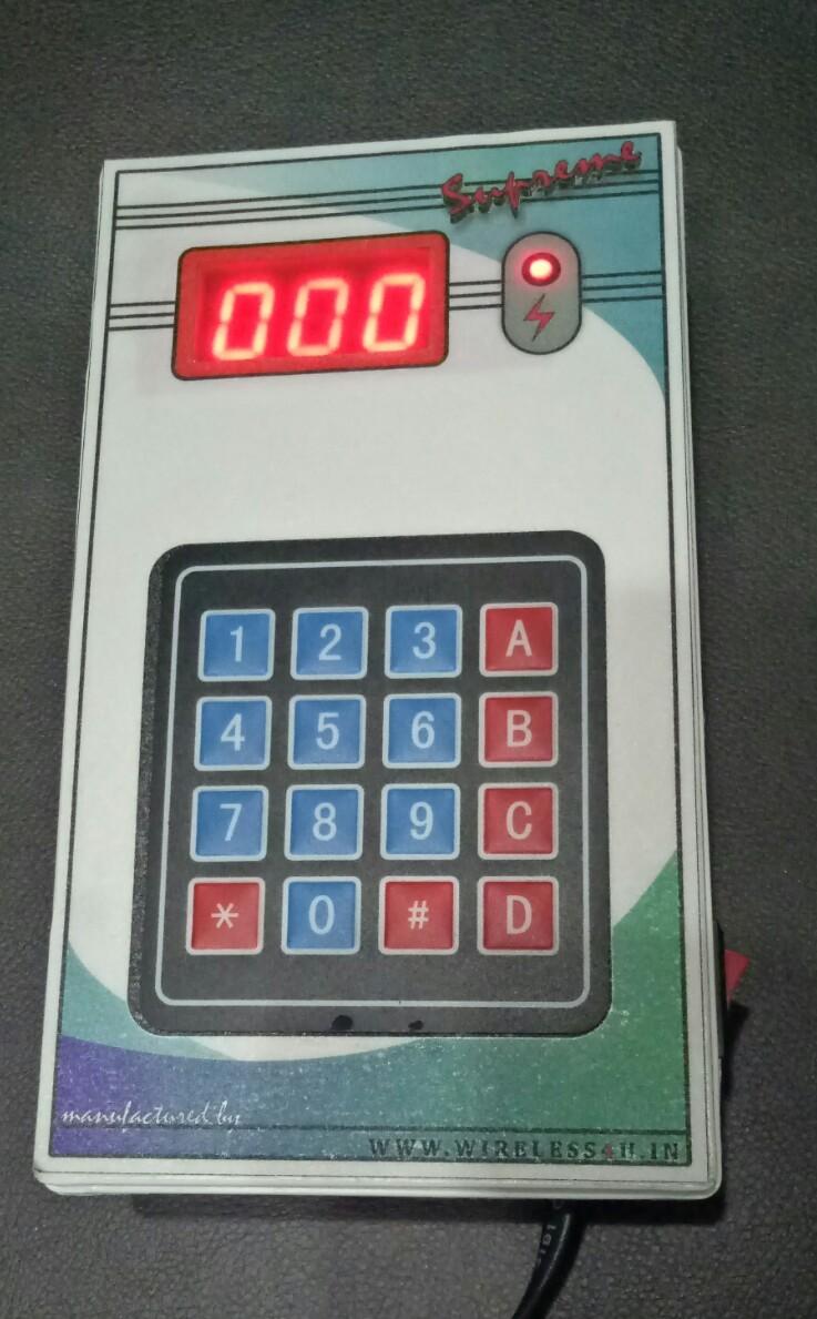 Token Display Unit