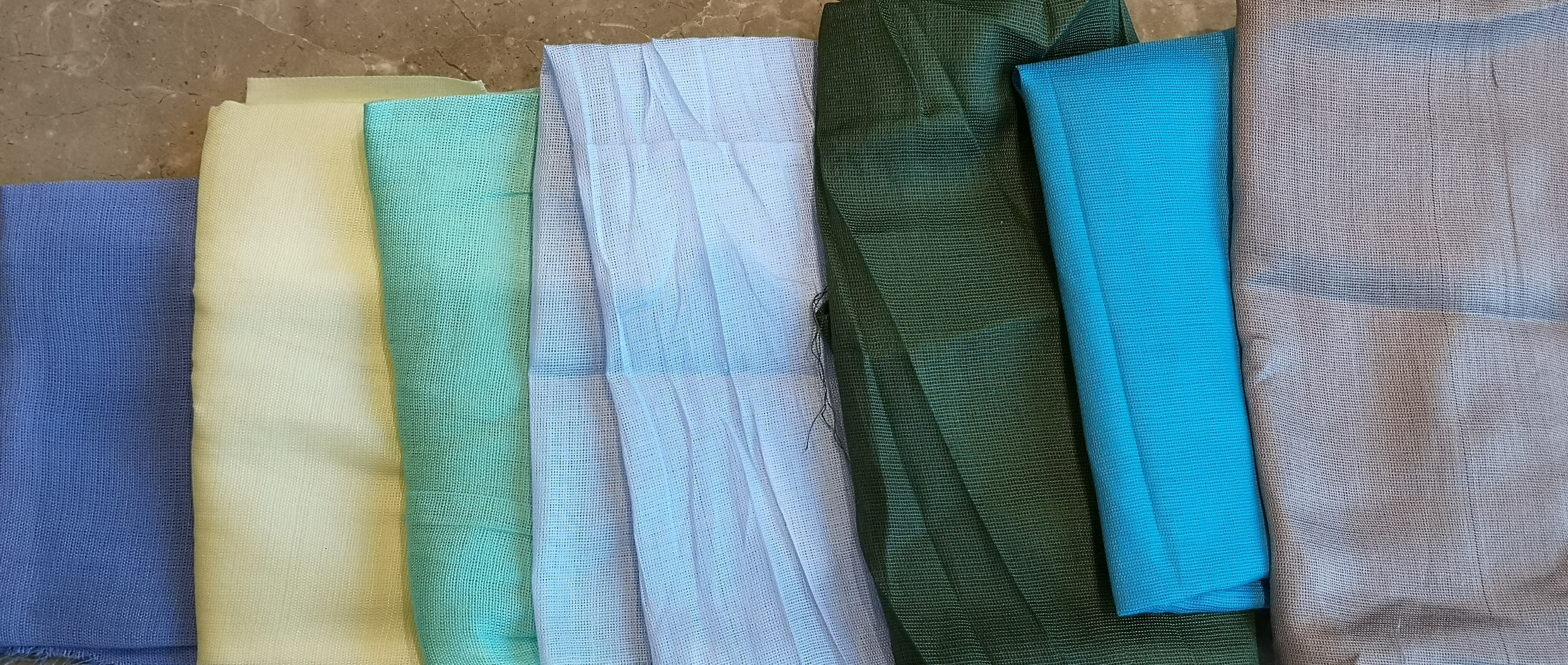 Assorted Colour Rayon Fabric