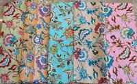 Indian Cotton Printed Fabric in Assorted Designs and Colours and Size