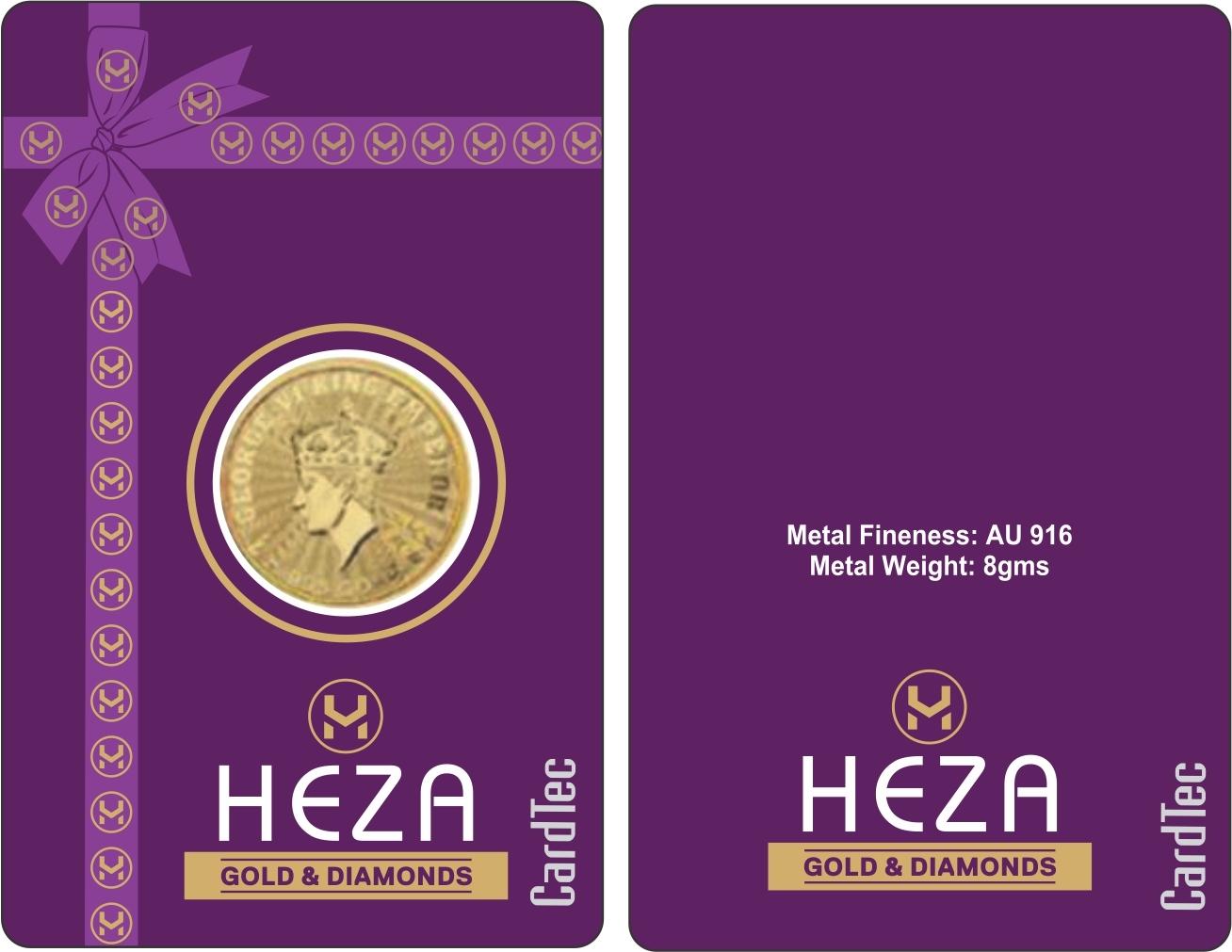 Coin Card samples