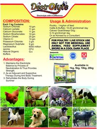 Goat Electrolyte Supplement (Destrolyte)