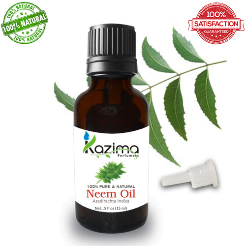 KAZIMA Neem Cold Pressed Carrier Oil