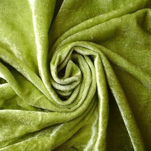 Viscose Velvet Plain Fabrics