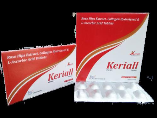 Rose Hip Extract, Collagen Peptide &  Ascorbic Acid