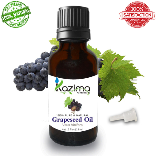 KAZIMA Grapeseed Cold Pressed Carrier Oil