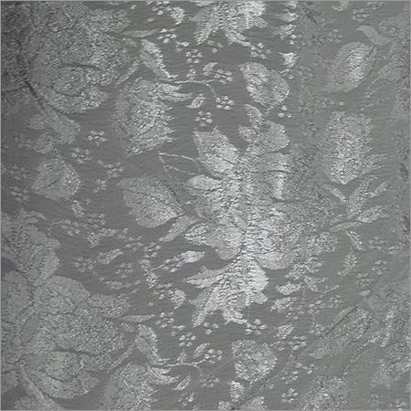 Viscose Crepe Self Jacquard Fabric