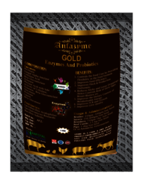 Poultry Feed Enzyme & Probiotics (Anfazyme Gold)