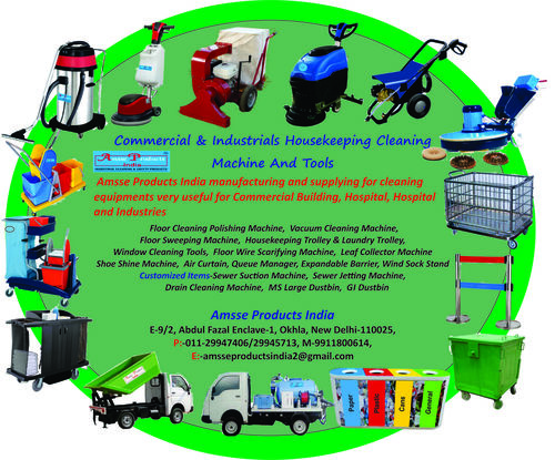 Floor Cleaning Equipmnts