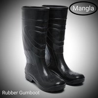 Rubber long boot
