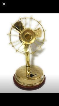 Brass Electric Fan