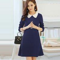 Nevy Blue Western Dress