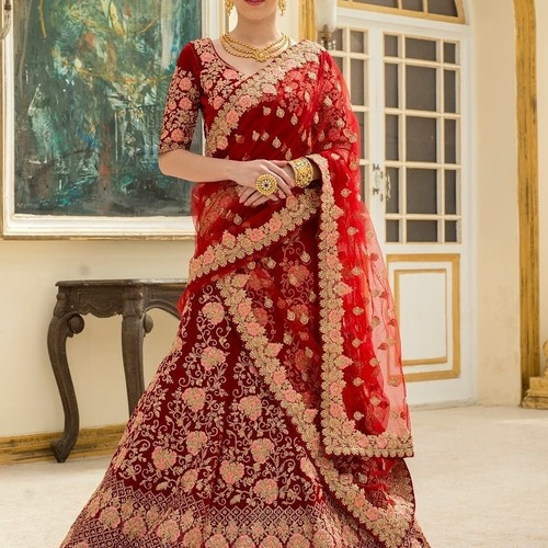 Embroidered Bridal Lehenga