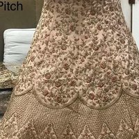 Golden Bridal Lehengas