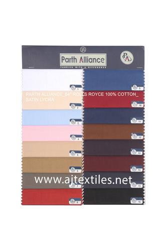 Lycra Shirting Fabrics
