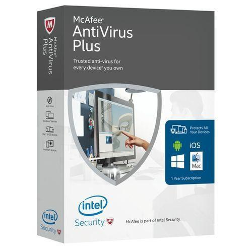 Mcafee Antivirus 1 Pc 1 Year Email Delivery
