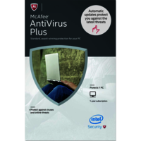 Mcafee Antivirus 1 Pc 1 Year