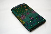 Embroidery Work Queen Size Kantha Quilt