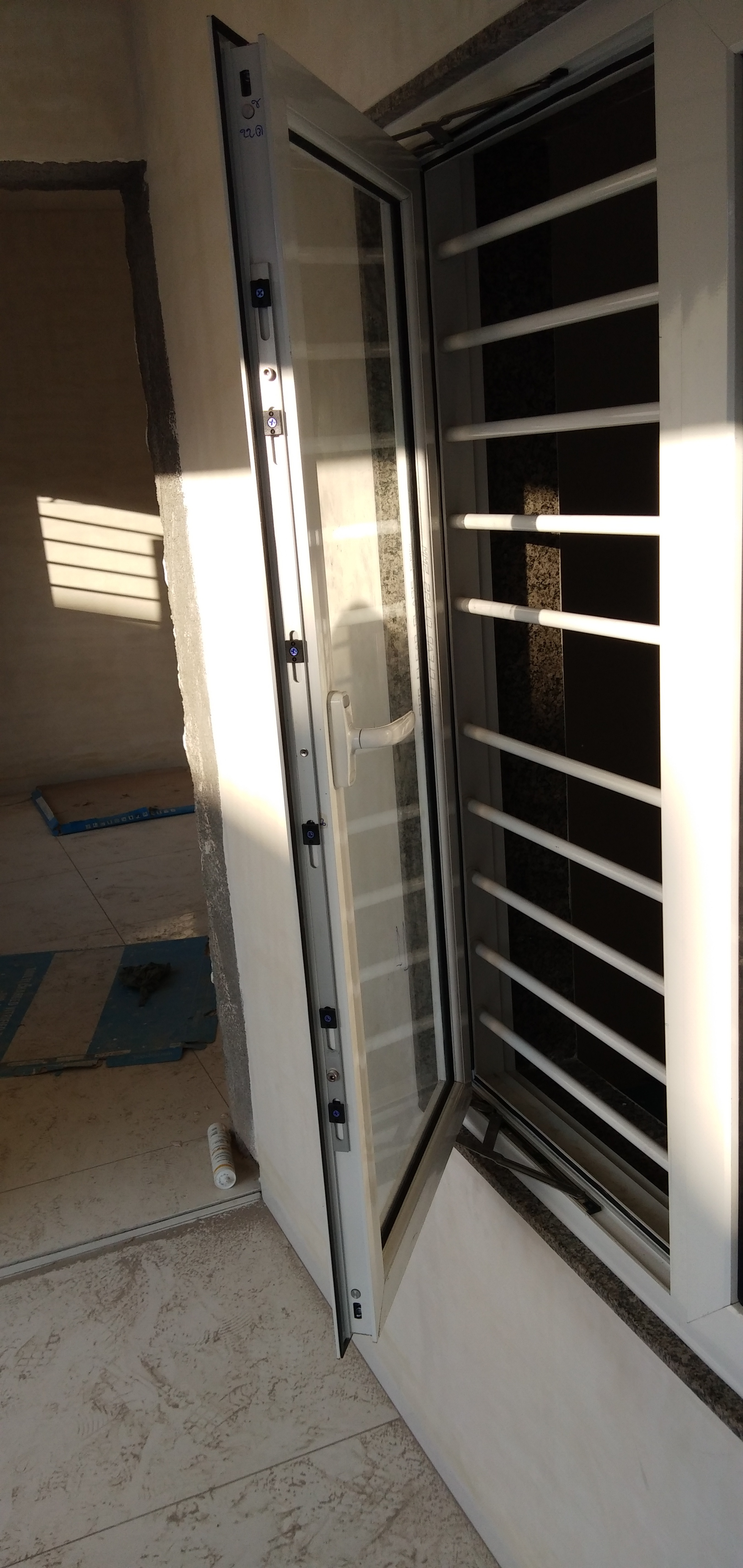 Openable Grill Window