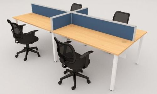 Open office work station 4 seater