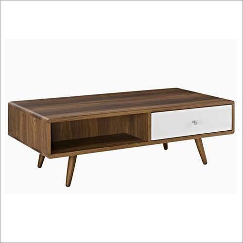 Wooden Center Table Drawer