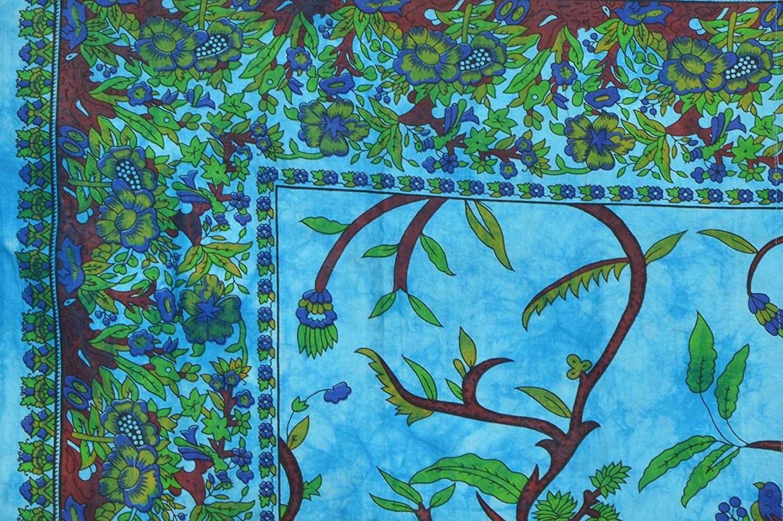 Indian Handmade Tree Of Life Duvet Cover