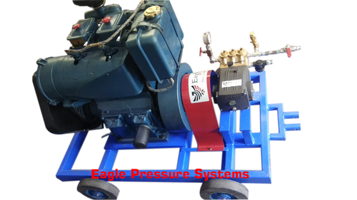 Engine Driven Hydro Test Pump