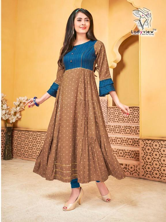 Long Anarkali Kurtis