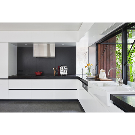 Handless Modular Kitchen