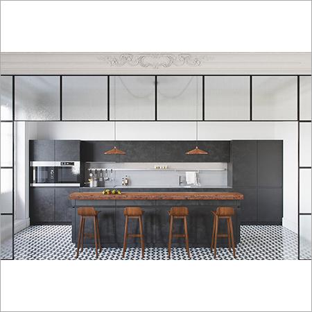Hemmerton PU Modular Kitchen