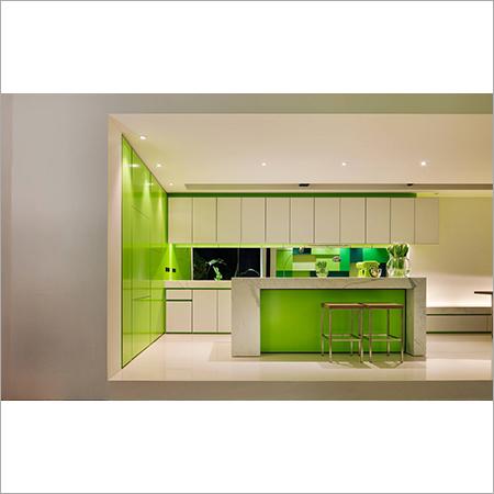 HI-Gloss Greman Acrylic Modular Kitchen